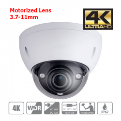 8MP Dome Camera motorizzata...