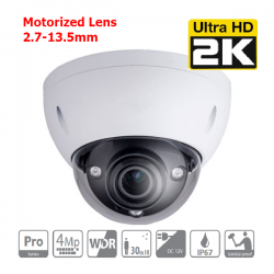 4MP Dome Camera motorizzata WDR